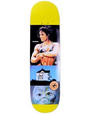 Quasi Johnson 'Curiosities' Skateboard Deck - 8.5