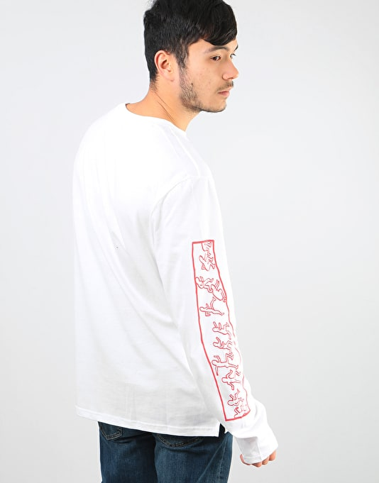 Element x Keith Haring KH Jump L/S T-Shirt - Optic White