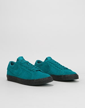 Nike SB Zoom Blazer Low Skate Shoes - Geode Teal/Geode Teal-Black