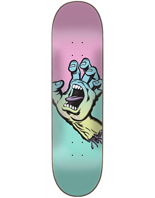 Santa Cruz Screaming Hand Skateboard Deck - 7.75""