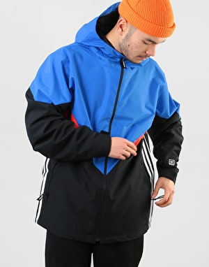 Adidas Premiere Riding 2019 Snowboard Jacket - Black/White/Blue/Red
