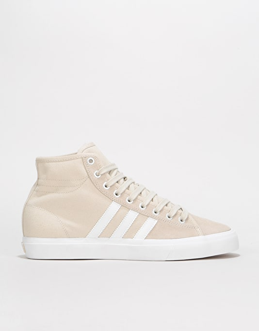 Adidas Matchcourt High RX Skate Shoes Clear BrownWhiteClear Brown