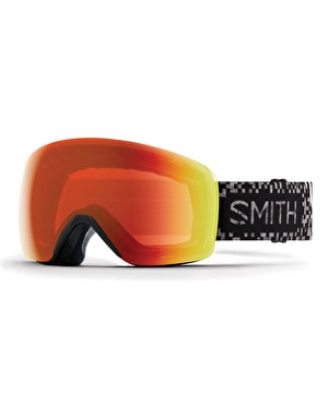 Smith Skyline 2019 Snowboard Goggles - Game Over/Everyday Red Mirror