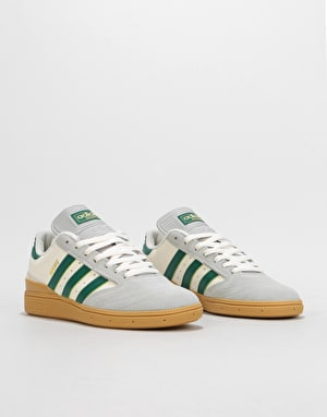 Adidas Busenitz Pro Skate Shoes - Grey/Collegiate Green/Gum