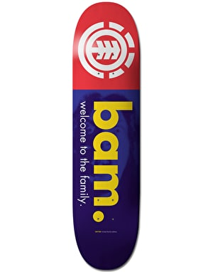 Element Bam Welcome Skateboard Deck - 8.25