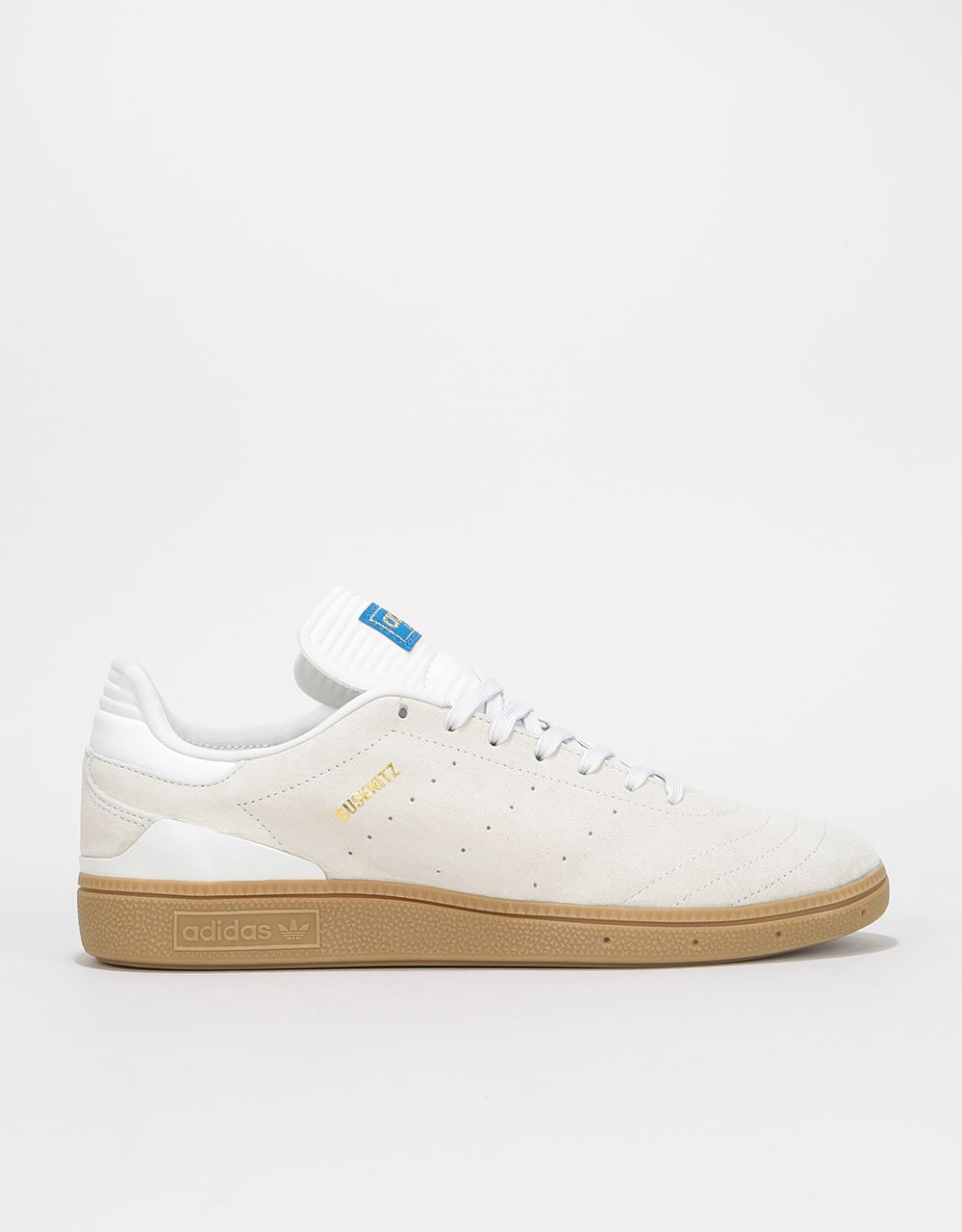 brand new 8f837 5400b Adidas Busenitz RX Skate Shoes - Crystal WhiteGumGold Metallic  Mens  Footwear  Trainers  Skate Shoes  Sneakers  Runners  Route One