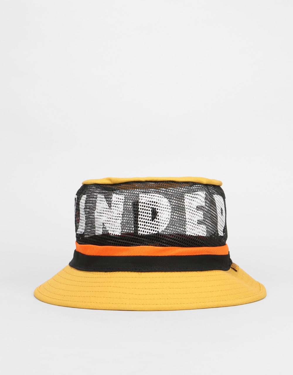 Brixton x Independent Hardy Bucket Hat - Yellow  1deef155894f