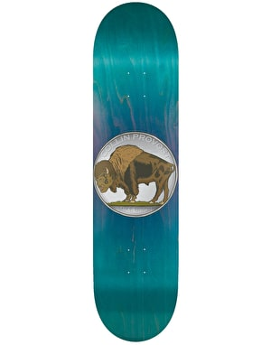 Toy Machine Provost Bison Skateboard Deck - 8.5
