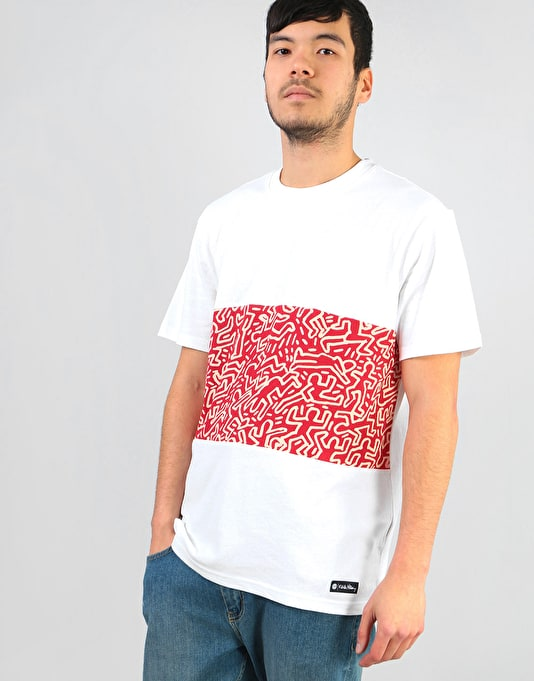 Element x Keith Haring KH Big Panel T-Shirt - Optic White