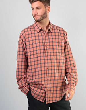 Patagonia Pima Cotton L/S Shirt - Lodge Pine: Century Pink