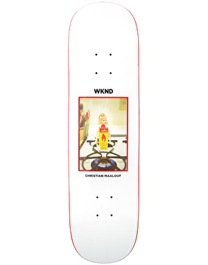 WKND Malouf Flame Girl Skateboard Deck - 8.5