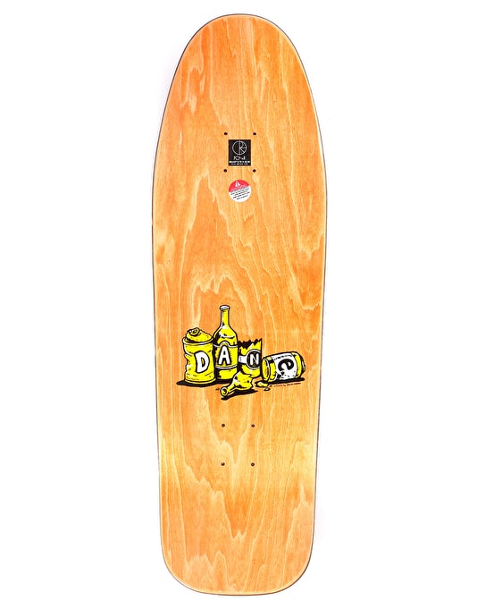 Polar Dane Cowboy Skateboard Deck - BEAST Shape 9.75""