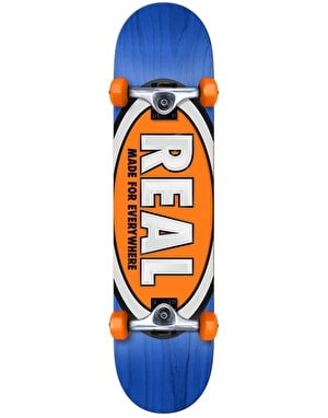 Real Team Ovals Complete Skateboard - 7.5