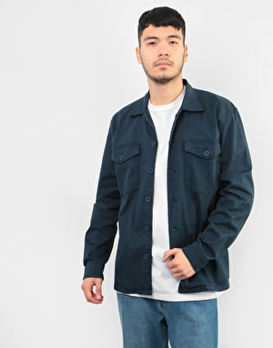 Route One Military Shirt - Navy