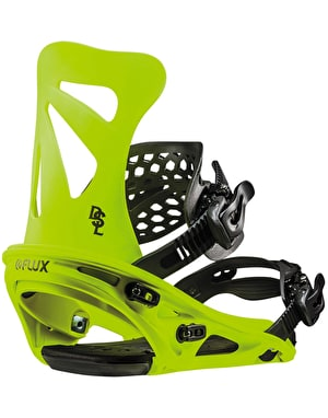 Flux DSL 2019 Snowboard Bindings - Neon Yellow