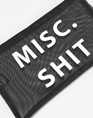 Brixton Misc Shit Accessory Pouch - Black