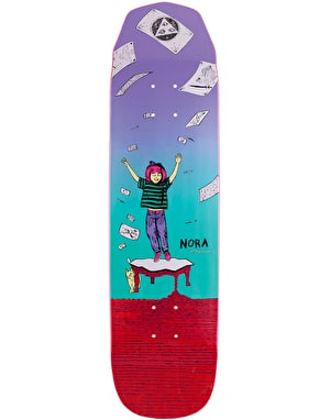 Welcome Nora Magilda on Wicked Princess Skateboard Deck - 8.125