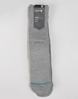 Stance Icon 3 Pack Classic Crew Socks - Grey Heather
