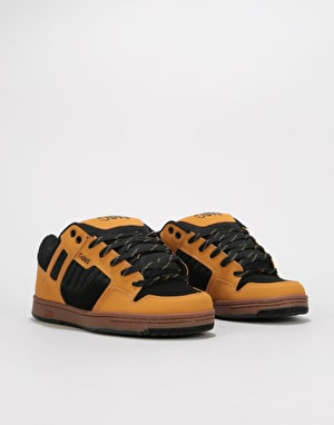DVS Enduro 125 Skate Shoes - Black/Chamois Nubuck Deegan