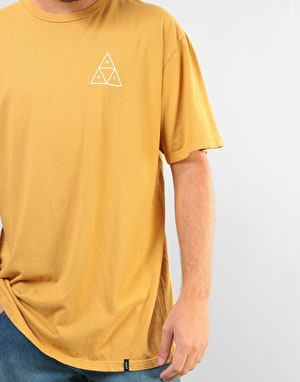 HUF Triple Triangle T-Shirt - Honey Mustard