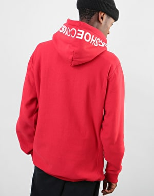 DC Skate Reverse Pullover Hoodie - Tango Red