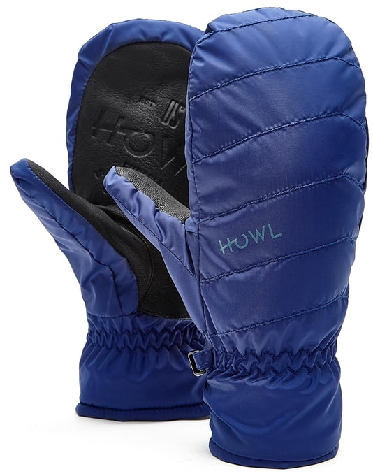 Howl Daily 2018 Snowboard Mitts - Blue
