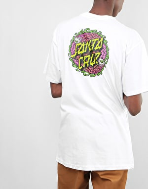 Santa Cruz Gore Dot T-Shirt - White