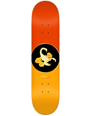 Real Robbie Fossil Skateboard Deck - 8.25