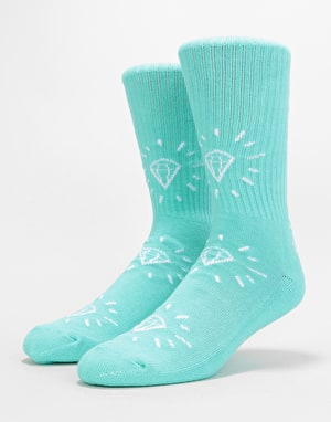 Diamond Supply Co. Outshine Crew Socks - Diamond Blue