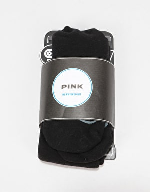 Stinky 'Pink' Snowboard Socks - Black