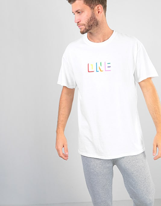 Route One Colourblock T-Shirt - White