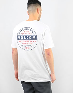 Volcom Barred T-Shirt - White