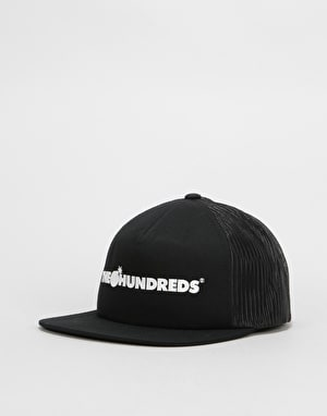 The HundredsBar Logo Trucker Cap - Black