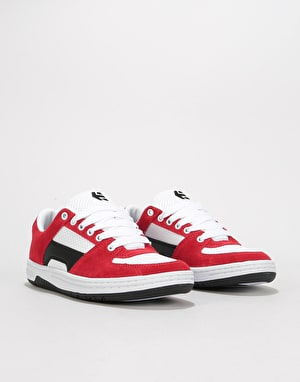 Etnies Senix Lo Skate Shoes - Red/White/Black
