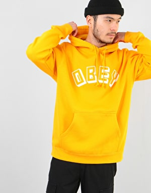 Obey New World Pullover Hoodie - Gold