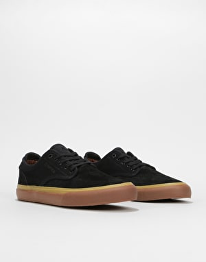 Emerica Wino G6 Skate Shoes - Black/Tan
