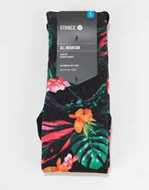 Stance Night Stalk All Mountain Snowboard Socks - Black