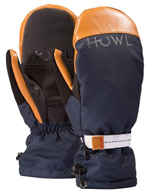 Howl Network 2019 Snowboard Mitts - Navy