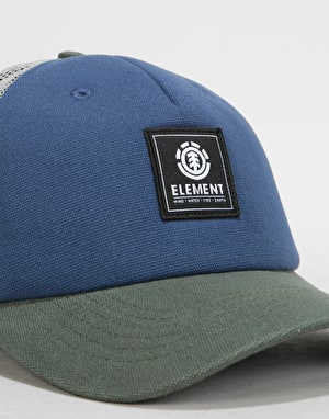 Element Icon Mesh Cap - Indigo Blue