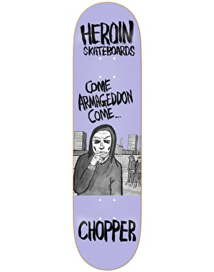 Heroin Chopper Wordsmith Skateboard Deck - 8