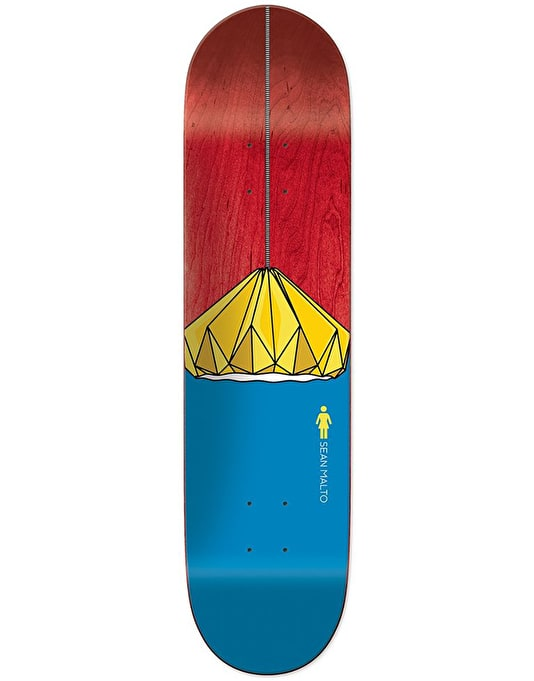Girl Malto Illuminated Skateboard Deck - 8.25""