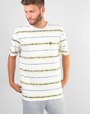 Element Micky Stripe T-Shirt - Eclipse Navy
