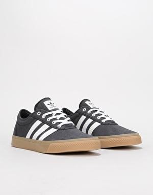 Adidas Adi-Ease Skate Shoes - Black/White/Gum