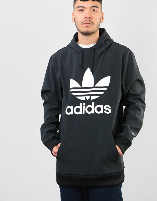 Adidas Team Tech Pullover Hoodie - Black/White