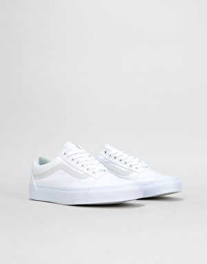 Vans Old Skool Womens Trainers - True White