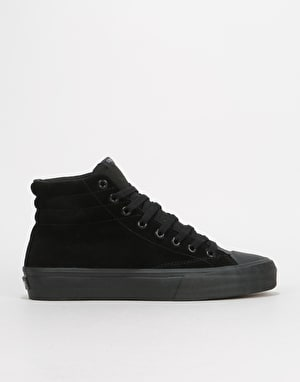 Straye Venice Skate Shoes - Black/Black Suede