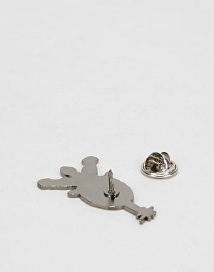 Powell Peralta Skull & Sword Lapel Pin - Multi