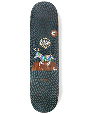 Magenta Panday Perceptions Skateboard Deck - 8