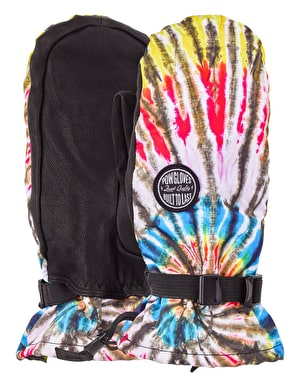 Pow Tallac 2-1 2019 Snowboard Mitts - Tie Die