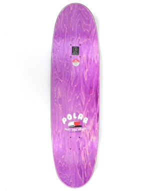 Polar Herrington Just Like Drugs Skateboard Deck - FOOTBALL Shape 8.75
